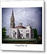 Monumental Church - 1812 Metal Print