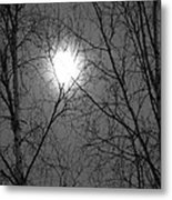 Moon Metal Print by Jennifer Kimberly