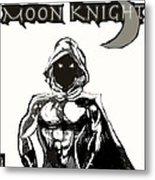 Moon Knight The White Knight  Metal Print