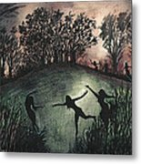 Moonlight Dance Metal Print