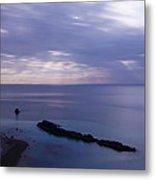 Moonlight Over Man Of War Bay  Metal Print