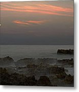 Moonrise Coral Cove Metal Print