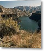 745p More's Creek Boise Id Metal Print