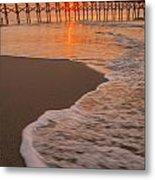 morning at  Myrtle Beach South Carolina Metal Print