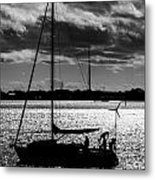 Morning Sail Metal Print