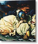 Mother And Child Reunion Metal Print