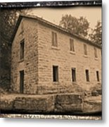 Motor Mill Cooperage Metal Print
