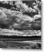 Mount Vernon Farmland - Washington State Metal Print