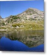 Mountain And Lake Metal Print