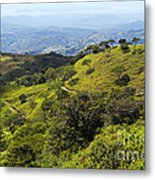 Mountains And Valleys Metal Print