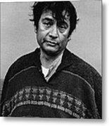 Jaoquin Martinez As Manola  Joe Kidd Set  Old Tucson 1971 Metal Print