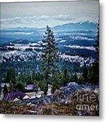 Mt Spokane Metal Print