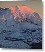 Mt. St. Helens Sunset Metal Print