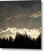 Mt Sunset Metal Print by Yvette Pichette