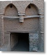 Mud Brick Village Metal Print