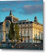 Musee D'orsay Evening Metal Print