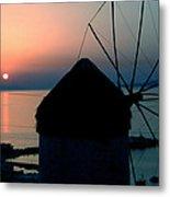 Mykonos Island Greece Metal Print