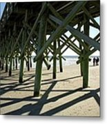 Myrtle Beach Pier Metal Print
