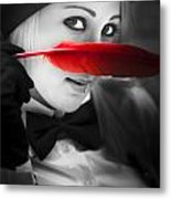 Mystery In Nature Metal Print