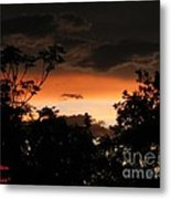 Mystic Sunset Metal Print
