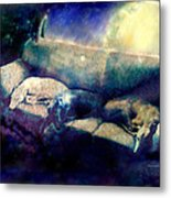 Nap Time Dreams Metal Print