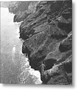 Napali Coast Of Kauai Metal Print
