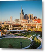 Nashville Morning Metal Print