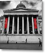 National Gallery London Metal Print by Ed Pettitt
