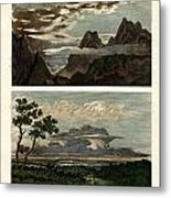 Natural History Of The Clouds Metal Print