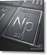 Neptunium Chemical Element Metal Print