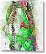 Nervous System Metal Print