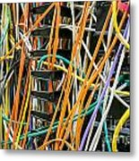 Networking  Metal Print