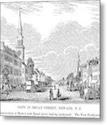 New Jersey Newark, 1844 Metal Print