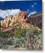 New Mexico Landscape Metal Print