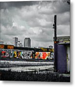 New Orleans Skyline From The Creative Part Of Town Metal Print