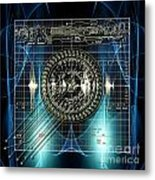 New Time Calculation Metal Print