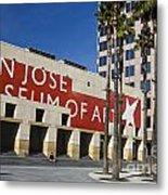 New Wing Of The San Jose Museum Of Art Metal Print