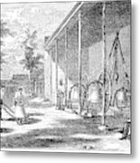 New York Bell Foundry Metal Print