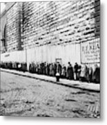 New York City Bread Line Metal Print