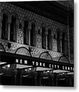 New York City Center Metal Print