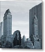 New York City From Central Park Metal Print