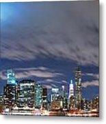 New York City Manhattan Panorama  Metal Print