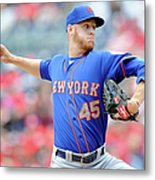 New York Mets V Washington Nationals Metal Print