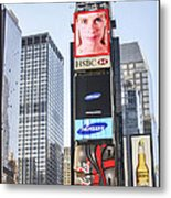 New York New York Metal Print by B Wayne Mullins