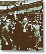 New York Stock Exchange 1963 Metal Print
