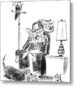New Yorker June 15th, 1987 Metal Print