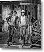 Newman And Redford Metal Print