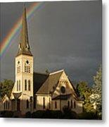 Newman United Methodist Church Metal Print