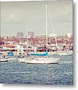 Newport Beach Panorama Metal Print