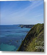 Photographs Of Cornwall North Coast Cornwall Metal Print